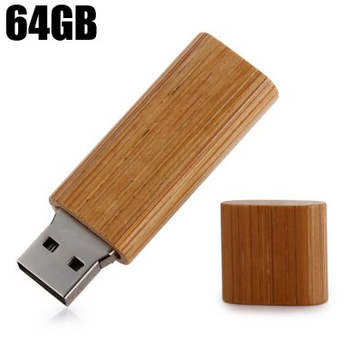 ZP Wood Material USB 2.0 64GB U Disk