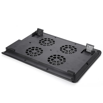 NUOXI L112A 4 Fans Cooling Pad for 15.4 inch Ultrabook