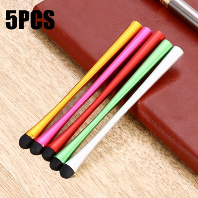 5PCS Capacitance Pen Small Pretty Waist Mobile Phone Touch Screen Stylus