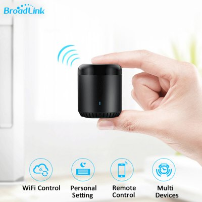 Broadlink Universal WIFI / IR Remote ControllerOther Home Improvement<br>Broadlink Universal WIFI / IR Remote Controller<br><br>Brands: Broadlink<br>Current : 500mA<br>Package Contents: 1 x IR Controller, 1 x USB Cable, 1 x Chinese User Manual<br>Package size (L x W x H): 8.00 x 8.00 x 9.00 cm / 3.15 x 3.15 x 3.54 inches<br>Package weight: 0.1500 kg<br>Power (W): Less than 0.85W<br>Product size (L x W x H): 5.50 x 5.50 x 6.45 cm / 2.17 x 2.17 x 2.54 inches<br>Product weight: 0.0750 kg<br>Voltage(V): DC 5V<br>Working Humidity: Less than 85 percent<br>Working Temperature: 0 - 50 degree