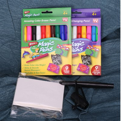 20Pcs Children Watercolor Magic Pen Spray Drawing Educational Toy for Kid