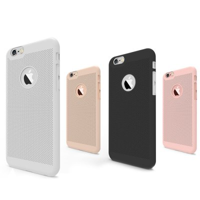 Breathable Protective Back Cover Case for iPhone 6 Plus / 6S PlusiPhone Cases/Covers<br>Breathable Protective Back Cover Case for iPhone 6 Plus / 6S Plus<br><br>Compatible for Apple: iPhone 6 Plus,iPhone 6S Plus<br>Features: Back Cover<br>Material: PC<br>Style: Cool<br>Color: Black,Gold,Pink,Silver<br>Product weight: 0.015 kg<br>Package weight: 0.055 kg<br>Product size (L x W x H): 16.00 x 7.00 x 0.70 cm / 6.3 x 2.76 x 0.28 inches<br>Package size (L x W x H): 18.00 x 11.00 x 2.00 cm / 7.09 x 4.33 x 0.79 inches<br>Package Contents: 1 x Case