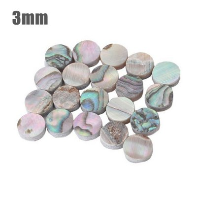 GF - 03 50Pcs Mini 3mm Abalone Shell Inlay Dot for Guitar Ukulele Fingerboard