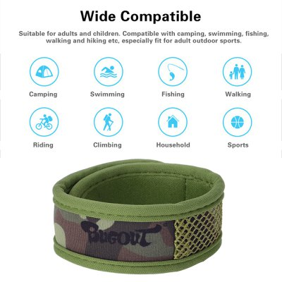 BUGOUT Mosquito Repellent Wristband with Natural Fragrance