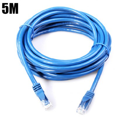 5M Category 6 Ethernet Cable 1000Mbps RJ45 Internet Cord