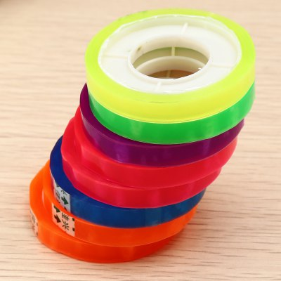 CH - 08 Plastic Tape 8PCSTapes<br>CH - 08 Plastic Tape 8PCS<br><br>Color: Multi-color<br>Product weight: 0.060 kg<br>Package weight: 0.081 kg<br>Product size (L x W x H): 6.80 x 5.00 x 5.00 cm / 2.68 x 1.97 x 1.97 inches<br>Package size (L x W x H): 7.80 x 6.00 x 6.00 cm / 3.07 x 2.36 x 2.36 inches<br>Package Contents: 8 x CH - 08 Plastic Tape