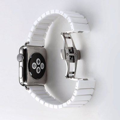 Ceramic Solid Links Watchband for Apple Watch 42mmApple Watch Bands<br>Ceramic Solid Links Watchband for Apple Watch 42mm<br><br>Color: Black,White<br>Function: For Apple Watch 42mm<br>Material: Ceramic<br>Package Contents: 1 x Watchband<br>Package size: 23.00 x 6.00 x 2.00 cm / 9.06 x 2.36 x 0.79 inches<br>Package weight: 0.168 kg<br>Product size: 19.00 x 4.00 x 1.00 cm / 7.48 x 1.57 x 0.39 inches<br>Product weight: 0.095 kg