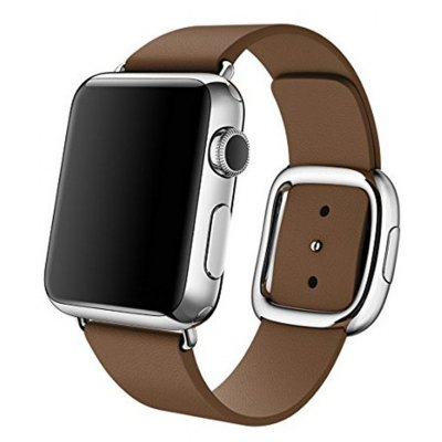 Modern Buckle Leather Watchband for Apple Watch 42mm