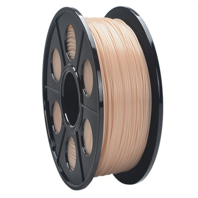 K-Camel 340M 1.75mm ABS Filament 3D Printer Material3D Printer Supplies<br>K-Camel 340M 1.75mm ABS Filament 3D Printer Material<br><br>Brand: K-Camel<br>Color: Blue,Complexion,Golden,Green,Orange,Pink,Red,White<br>Diameter: 1.75MM<br>Function: 3D Printing Filament<br>Length: 340M<br>Material: ABS<br>Package Contents: 1 x 3D Printer Filament Bundle<br>Package size: 21.50 x 7.50 x 21.50 cm / 8.46 x 2.95 x 8.46 inches<br>Package weight: 1.350 kg<br>Product size: 20.00 x 7.00 x 20.00 cm / 7.87 x 2.76 x 7.87 inches<br>Product weight: 1.000 kg<br>Size: 1.75mm<br>Special features: ABS 3D Printing Filament