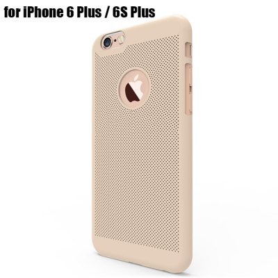 Breathable Protective Back Cover Case for iPhone 6 Plus / 6S Plus