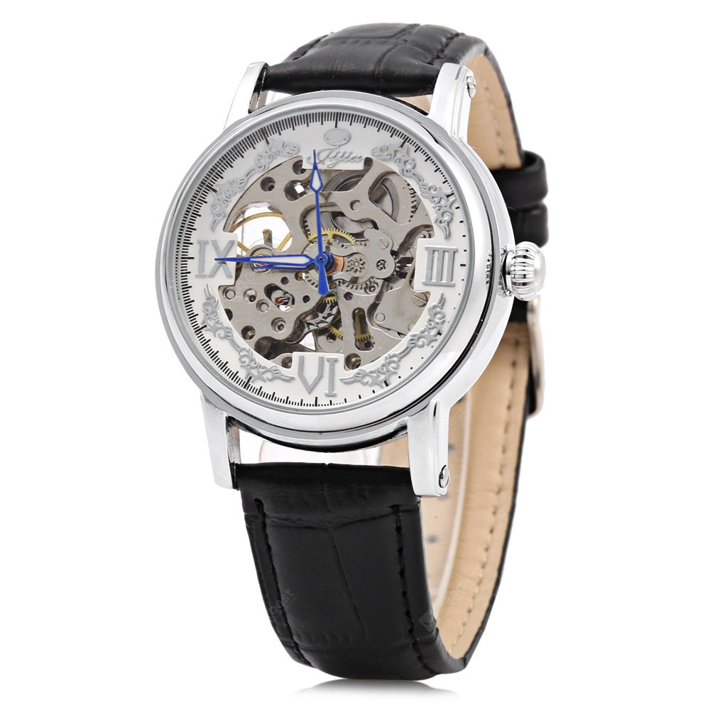 JIJIA G8126 Hollow-out Automatic Mechanical Male Watch-15.94 Online Shopping GearBest.com
