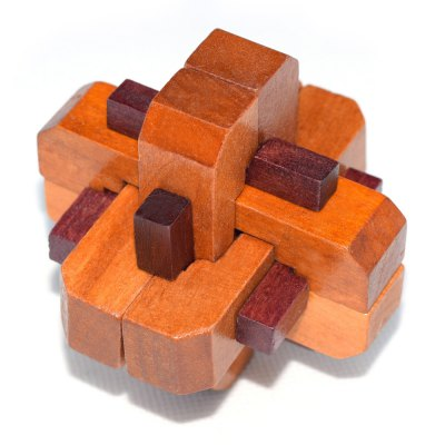 Maikou MK503 Unlock Puzzle Toy Wooden Three-dimensional Jigsaw