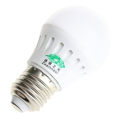 Zweihnder E27 6W 550LM 12 x SMD 5730 LED Lamp BulbGlobe bulbs<br>Zweihnder E27 6W 550LM 12 x SMD 5730 LED Lamp Bulb<br><br>Angle: 170 degree<br>Available Light Color: Warm White,White<br>Brand: Zweihnder<br>CCT/Wavelength: 3000-3500K,5500-6000K<br>Emitter Types: SMD 5730<br>Features: Long Life Expectancy, Energy Saving<br>Function: Studio and Exhibition Lighting, Home Lighting, Commercial Lighting<br>Holder: E27<br>Luminous Flux: 550LM<br>Output Power: 6W<br>Package Contents: 1 x Zweihnder Globe Bulb<br>Package size (L x W x H): 8.00 x 5.00 x 5.00 cm / 3.15 x 1.97 x 1.97 inches<br>Package weight: 0.048 kg<br>Product size (L x W x H): 8.20 x 4.10 x 4.10 cm / 3.23 x 1.61 x 1.61 inches<br>Product weight: 0.026 kg<br>Total Emitters: 12<br>Type: Ball Bulbs<br>Voltage (V): AC 85-265