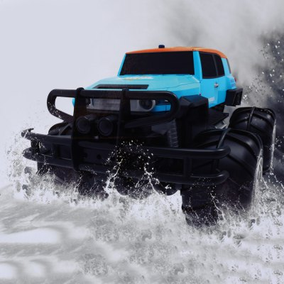 YED No. 1601 Amphibious 1 : 12 2.4GHz 8 Channel Realistic Anti-collision Off-road Vehicle RTR
