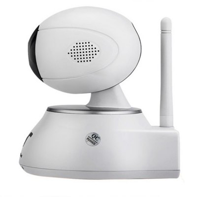 IPS - Eye02 Wireless IP Camera 720P 1.0MP Two Way AudioIP Cameras<br>IPS - Eye02 Wireless IP Camera 720P 1.0MP Two Way Audio<br><br>Alarm Notice: Email Photo,FTP Photo<br>Audio Compression Mode: G.711<br>Audio Input: Built-in mic.<br>Audio Output: External speaker<br>Backlight Compensation: Yes<br>DDNS (free): Yes<br>Exterior Material: Plastic<br>Frame Rate (FPS): 25fps<br>Image Adjustment: Brightness,Contrast,Hue<br>Infrared Distance: 8 - 10m<br>IP camera performance: Real-time video capture and recording, Night Vision, Motion Detection<br>Local-storage: Micro SD card up to 32GB<br>Minimum Illumination: 0.5lux<br>Mobile Access: Android,IOS<br>Model: IPS-Eye02<br>Network Port: RJ-45<br>Operate Temperature (?): -10 - 60 Celsius degrees<br>Package Contents: 1 x IP Camera, 1 x Charging Cable, 1 x Network Cable, 4 x Screw, 1 x Disk<br>Package size (L x W x H): 20.50 x 14.50 x 12.50 cm / 8.07 x 5.71 x 4.92 inches<br>Package weight: 0.705 kg<br>Pan/Tilt-Horizontal Angle (degree) : 355 degrees<br>Pan/Tilt-Vertical Angle (degree) : 110 degrees<br>Pixels: 1MP<br>Product size (L x W x H): 10.30 x 10.00 x 11.50 cm / 4.06 x 3.94 x 4.53 inches<br>Product weight: 0.265 kg<br>Protocol: ARP,DDNS,DNS,HTTP,ICMP,IP,NTP,POP3,RTCP,RTP,SMTP,TCP<br>Resolution: 1280 x 720<br>S/N Ration: More than 50dB<br>Safety: Administrator password protection<br>Sensor: CMOS<br>Sensor size (inch): 1/4<br>Shape: Mini Camera<br>Specification of Power Supply: 5V / 2A<br>Technical Feature: Infrared<br>Video Compression Format: H.264<br>White Balance: Auto<br>Wireless: WiFi 802.11 b/g/n<br>Working Humidity (%) RH: 10 - 80ptc