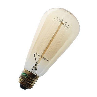 Zweihnder E27 40W ST64 600Lm Edison Bulb AC 110 - 130VEdison Bulbs<br>Zweihnder E27 40W ST64 600Lm Edison Bulb AC 110 - 130V<br><br>Angle: 360 degree<br>Available Light Color: Warm White<br>Brand: Zweihnder<br>CCT/Wavelength: 3000-3500K<br>Features: Long Life Expectancy<br>Function: Studio and Exhibition Lighting, Home Lighting, Commercial Lighting<br>Holder: E27<br>Luminous Flux: 600LM<br>Output Power: 40W<br>Package Contents: 1 x Zweihnder Edison Bulb<br>Package size (L x W x H): 15.80 x 7.30 x 7.30 cm / 6.22 x 2.87 x 2.87 inches<br>Package weight: 0.074 kg<br>Product size (L x W x H): 14.80 x 6.30 x 6.30 cm / 5.83 x 2.48 x 2.48 inches<br>Product weight: 0.042 kg<br>Sheathing Material: Glass<br>Type: Edison Bulb<br>Voltage (V): AC 110-130