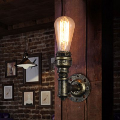 Retro Rustic Wall Light Sconce Aisle Stair Loft Basement-12.30 GearBest.com