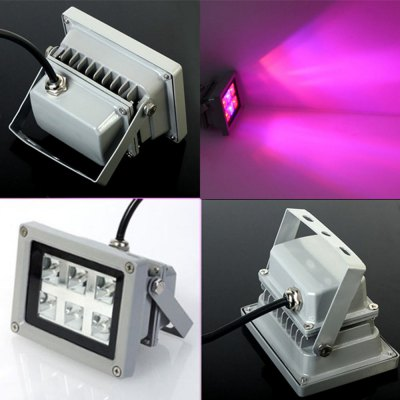 1080Lm 18W 6 LED Grow Light Floodlight Indoor Plants