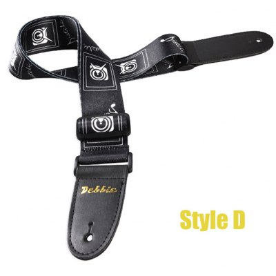 Adjustable Length Belt Painted Strap Polyester Guitar Spare Part