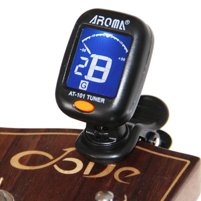 Aroma AT - 101 Guitar Violin Bass Ukulele Tuner