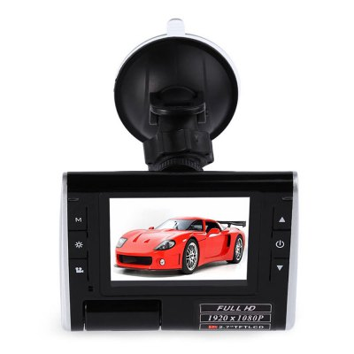 K8000 1080P FHD 140 Degree Wide Angle Car DVR
