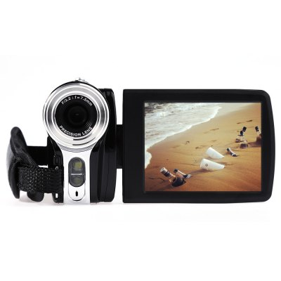 AMKOV DV164 20MP 16X Digital Zoom Camera DVCamcorders<br>AMKOV DV164 20MP 16X Digital Zoom Camera DV<br><br>Brand: Amkov<br>Pixel: 2000W<br>Screen size (inch): 3<br>Touch screen: No<br>Memory support : SD card<br>Storage medium: Flash memory DV<br>External memory storage(Maximum, not included): SD card up to 32GB<br>Sensor: CMOS<br>Image resolutions: 2048 x 1536 (3MP),2592 x 1944 (5MP),3264 x 2448 (8MP),5200 x 3900 (20MP),5600 x 4200 (24MP)<br>Video Resolution: 1280 x 720,320 x 240,640 x 480<br>Digital zoom: 16X<br>Function mode: Capture,Video<br>LED light: LED, less than 1.0M, on / off<br>Aperture: F/3.2, f=7.5mm<br>Focus Range: 1.5m - infinity<br>White Balance: Automatic,Cloudy,Daylight,Florescent light,Tungsten light<br>Scenes: Auto,Backlight,Beach,High sensivity,Landscape,Night,Party,Portrait,Scenery,Sport<br>File format: AVI,JPEG<br>ISO: 100,200,400,Auto<br>Exposure Compensation: -3.0~3.0<br>Self-timer: 10s,2s,5s,OFF<br>TV System : NTSC,PAL<br>Language: Deutsch,Dutch,English,French,Italian,Japanese,Portuguese,Russian,Simplified Chinese,Spanish,Traditional Chinese,Turkish<br>Microphone: Built-in<br>Loudspeaker: Built-in<br>Interface: Mini USB interface,SD Card Slot<br>Power Sources: 3.7V 1000mAh li - ion battery<br>Other Functions: AV out,Continuous mode,DIS intelligent anti-shake,Face Detection<br>Frequency: 50Hz,60Hz<br>Auto power off: Yes<br>Product weight: 0.208 kg<br>Package weight: 0.574 kg<br>Product size (L x W x H): 10.50 x 6.00 x 3.20 cm / 4.13 x 2.36 x 1.26 inches<br>Package size (L x W x H): 20.00 x 16.20 x 12.20 cm / 7.87 x 6.38 x 4.8 inches<br>Package Contents: 1 x Digital Camera (No Battery Inside), 1 x Power Adapter (AC 100 - 240V), 1 x USB Cable (80cm Approx.), 1 x AV Cable (95cm Approx.), 1 x Storage Bag, 1 x Battery, 1 x Battery Charger, 1 x Disc, 1 x E