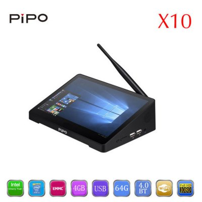 PIPO X10 TV Box + 10.8 inch IPS Tablet PC