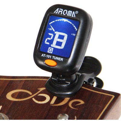 Back Light LCD Two Color Screen Clip-on for Guitar Violin Bass Ukulele