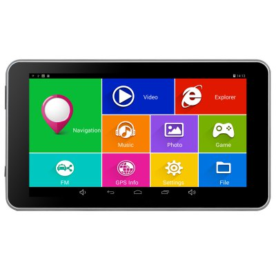 TiaiwaiT A50-16GB-AVIN Android 4.4.2 7.0 inch Car GPS Navigation