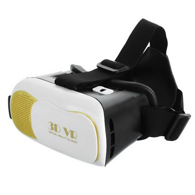 Virtual Reality 3D VR Glasses for 4 - 6 inch Smartphones with Remote Controller