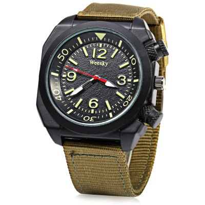 Weesky Casual Style Men Quartz Watch