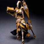 PVC + ABS Static Online Role-playing Game Figurine Character Model Home Office Decor – 7 inch