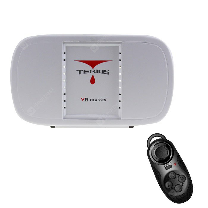 TERIOS Virtual Reality 3D Glasses Case with Remote Controller