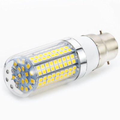 6pcs Sencart B22 180 x SMD 2835 1500LM 15W LED Corn BulbCorn Bulbs<br>6pcs Sencart B22 180 x SMD 2835 1500LM 15W LED Corn Bulb<br><br>Available Light Color: Warm White<br>Brand: Sencart<br>CCT/Wavelength: 3000-3500K<br>Emitter Types: SMD 2835<br>Features: Long Life Expectancy, Energy Saving<br>Function: Studio and Exhibition Lighting, Commercial Lighting, Outdoor Lighting<br>Holder: B22<br>Luminous Flux: 1500Lm<br>Output Power: 15W<br>Package Contents: 6 x Sencart LED Corn Light<br>Package size (L x W x H): 10.00 x 7.00 x 10.50 cm / 3.94 x 2.76 x 4.13 inches<br>Package weight: 0.230 kg<br>Product size (L x W x H): 3.00 x 3.00 x 9.50 cm / 1.18 x 1.18 x 3.74 inches<br>Product weight: 0.035 kg<br>Sheathing Material: ABS<br>Total Emitters: 180<br>Type: Corn Bulbs<br>Voltage (V): AC 110-120,AC 220-240