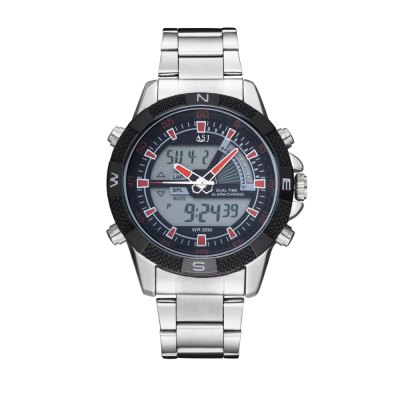 ASJ b001 Analog-digital Display Male Watch