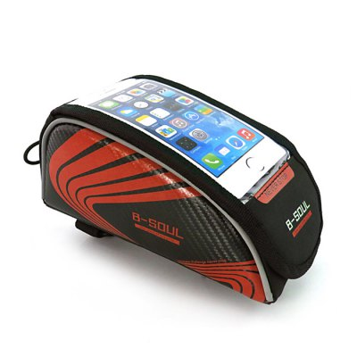 B - SOUL Touch Screen 5.5 inch Bicycle Front Tube Bag