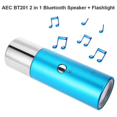 AEC BT201 2 in 1 Bluetooth 3.0 Speaker / Flashlight