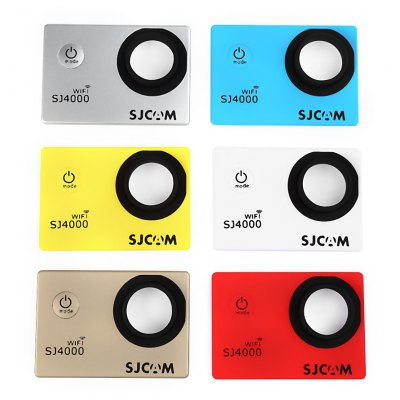Original SJCAM 6PCS Replacement Front Cover Faceplate for SJ4000 WiFi