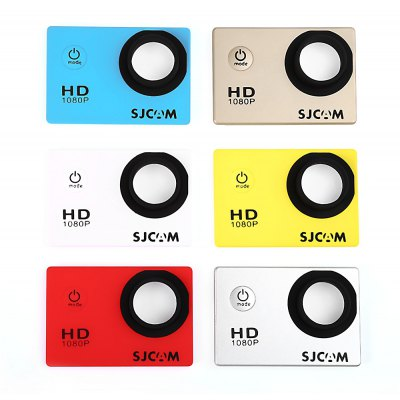 Original SJCAM 6PCS Replacement Front Cover Faceplate for SJ4000