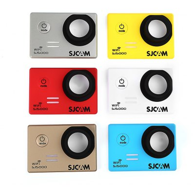 Original SJCAM 6PCS Replacement Front Cover Faceplate for SJ5000 WiFi