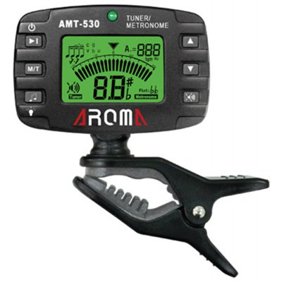 AROMA AMT - 530 2 in 1 30 - 260bpm Metronome / Tuner