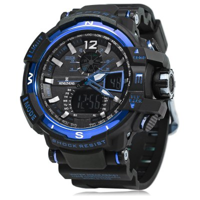 HENGZHENG HZ490 3ATM Men LED Sports Watch