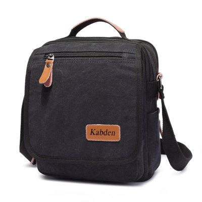 Kabden 3804 4L Men Multifunctional Canvas Single Shoulder BagSling Bag<br>Kabden 3804 4L Men Multifunctional Canvas Single Shoulder Bag<br><br>Bag Capacity: 4L<br>Brand: Kabden<br>Capacity: 1 - 10L<br>Color: Black,Coffee<br>For: Hiking, Cycling, Casual, Travel<br>Material: Canvas<br>Package Contents: 1 x Sling Bag<br>Package size (L x W x H): 23.00 x 5.00 x 27.00 cm / 9.06 x 1.97 x 10.63 inches<br>Package weight: 0.680 kg<br>Product size (L x W x H): 22.00 x 7.50 x 26.00 cm / 8.66 x 2.95 x 10.24 inches<br>Product weight: 0.600 kg<br>Type: Sling Bag