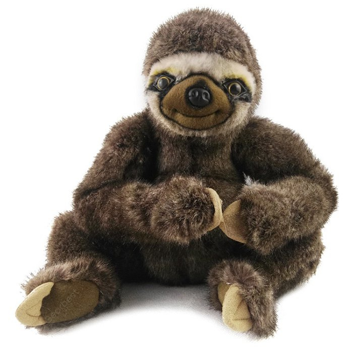 9.8 inch Anime Sloth Folivora Style Design Cute Plush Toy Stuffed Doll Cartoon Product Children Present 179496401