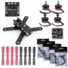 Dubai 210mm Mini Carbon Quadcopter DIY Frame Kit Racing Drone with 20A MINI ONESHOT ESC DELUXE SP3