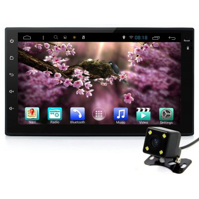 Junsun Android 4.4 7.0 inch Car Media Player with Rearview Camera