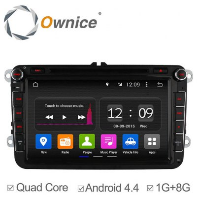 Ownice C180 - OL - 8992A Android 4.4.2 8.0 inch Car GPS DVD Multi-media Player for VW Volkswagen