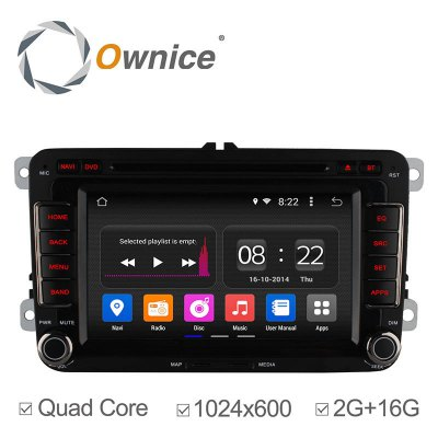 Ownice C180 - OL - 7991B Android 4.4.2 7.0 inch Car GPS DVD Multi-media Player for VW Volkswagen