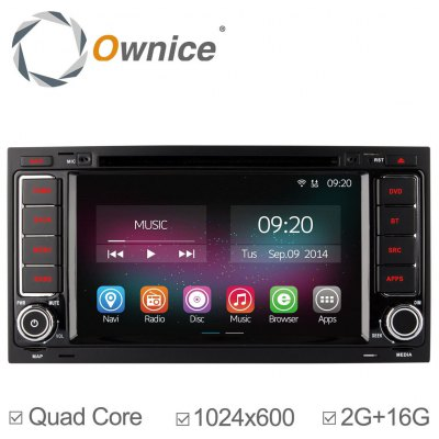 Ownice C200 - OL - 7903B Android 4.4.2 7.0 inch Car GPS DVD Multi-media Player for Volkswagen