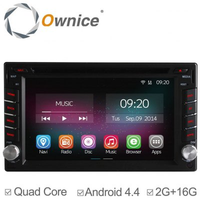 Ownice C200 - OL - 6666B Android 4.4.2 6.2 inch Car GPS DVD Multi-media Player